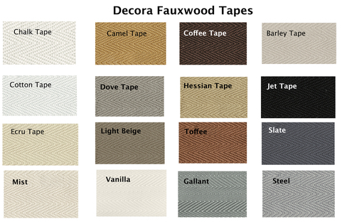 Tapes for Fauxwood