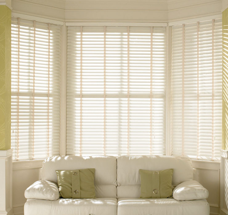 Wooden Venetian Blinds faux Wood Blinds made To Measure 35mm Blinds