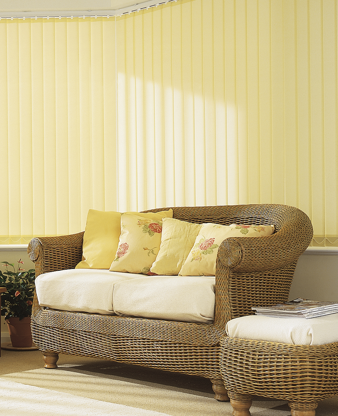Blackout vertical Blinds, PVC Vertical Blinds, Wipe Clean Vertical