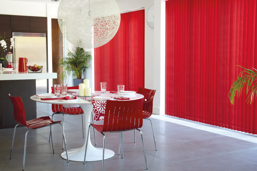 Rigid PVC Vertical blinds (hygiene excellence)