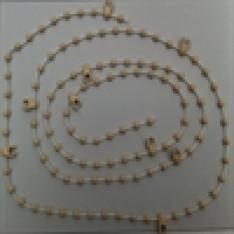 beige bottom chain