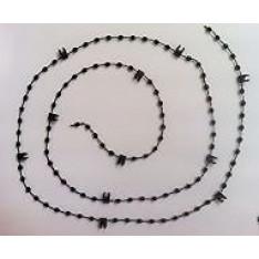 Vertical blind bottom chain Black