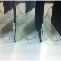 Metal bottom chain