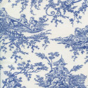 Toile French-blue